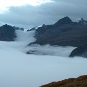 Nebelmeer mit Pfannenstock
