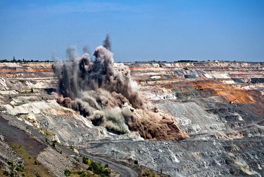 zerstörte Umwelt